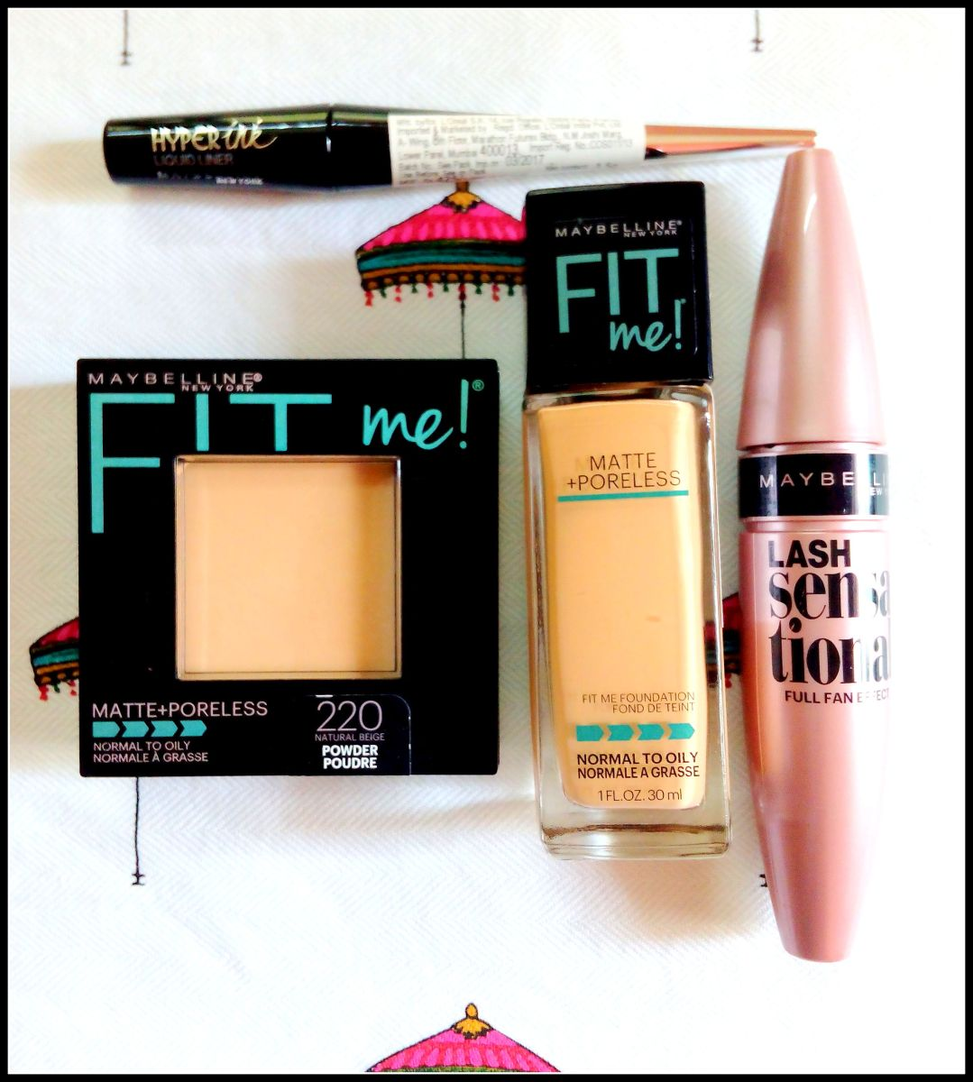 Maybelline makeup Haul + product review