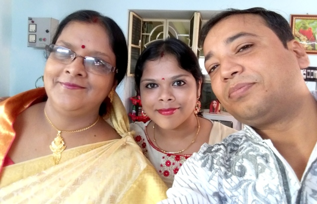 mom, me and hubby
