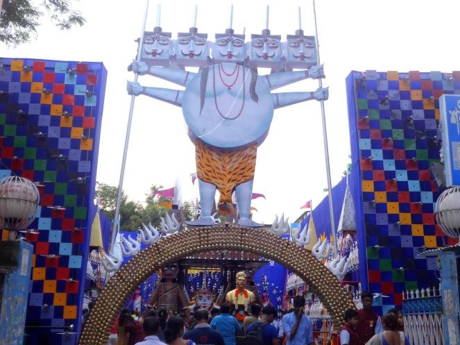 Babubagan Pandal Entrance