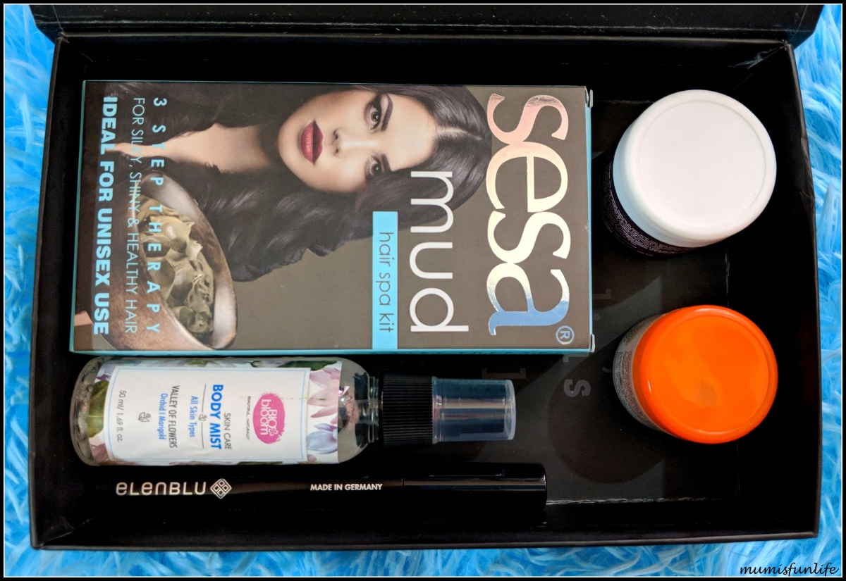 Glamego July 2018 - beauty subscription box review