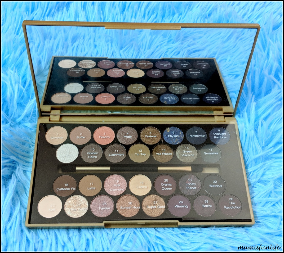 Makeup Revolution Fortune Favors the Brave Palette review